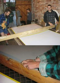 Upcycled ping pong - we needed just 5 minutes to make that from nothing