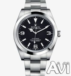 Simple Yet Stylish.  ROLEX EXPLORER 39MM STAINLESS STEEL WATCH BLACK DIAL  #Rolex #MensWear #MensFashion #Watches #Luxury #Premium #Explorer #Giftsforhim #ForHim #Holidays #Shopping