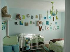 25 Creative Alphabet Wall Displays