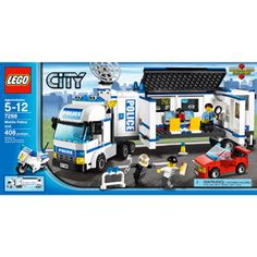 LEGO City Mobile Police Unit Play Set
