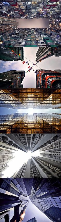 Kong Sky Race Crikey, that is what I call a new city perspective! Hong KongCrikey, that is what I call a new city perspective! Urban Photography, Street Photography, Travel Photography, Photography Ideas, Hong Kong, Perspective, In China, French Photographers, Cities