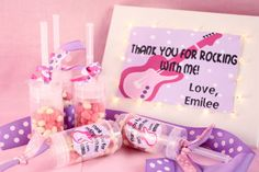 PARTY LIKE A ROCKSTAR Party- great ideas!