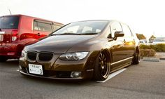 Honda Odyssey with a BMW Grill BMW 3 series - Honda Odyssey mashup - via Autoweek