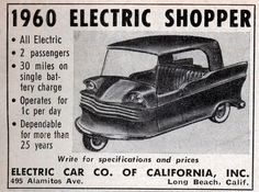 Who killed the electric shopper?