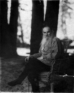 """What better way to celebrate the birthday of Leo Tolstoy than to read his monumentally weighty tome War and Peace? Well, for those who don't quite have time to get through all 561,093 words (Oxford World's Classics edition) of it, The Independent has produced its own marvellously abridged version."" --Boyd Tonkin, The Independent. (Image Credit: Leo Tolstoy. Photo by Sergey Prokudin-Gorsky (1863–1944). Public Domain, Library of Congress via Wikimedia Commons.) #tolstoy #warandpeace…"