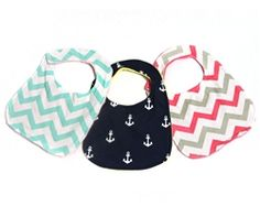 ON SALE NOW - Baby Bibs Perfect for any baby, boy or girl. Buy at Sunshine Shoppe for $4.95**   *Sale is for a limited time only.