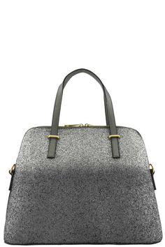Two Tone Ombre Top Handle Bag