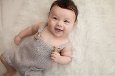 Knit Baby romper, ANY COLOR, 0- 24 Month, baby boy coming home, unisex take home outfit, newborn romper, newborn pants/shorts, hand knit