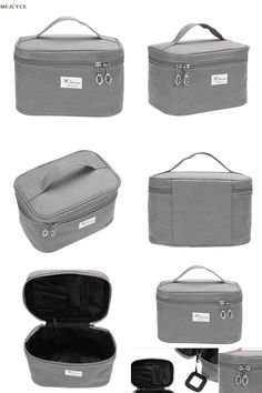 e484fb7fd NEW Make Up Bag Women Men Travel Bag Cosmetic Case Travel Trunk Bag Box Neceser  Pouch Clutch Handbags Organizer -in Cosmetic Bags & Cases from Luggage ...