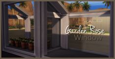 Sims4Pose: Site Gift {Rose Garden Window}