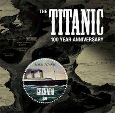 Grenada – Titanic 100 Year Anniversary – Stamp Souvenir Sheet GRA1203S | eBay