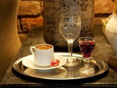 ✿ ❤ Turkish Coffee ☕  and liqueur