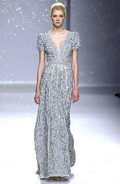 a unique Luisa Beccaria gown.