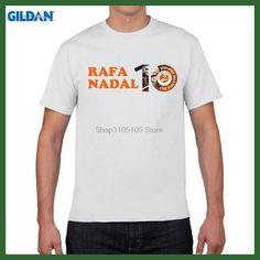 GILDAN Rafael Nadal 10 consecutive championships KING OF CLAY VAMOS short sleeve T-shirt Spain Rafa French Open jersey Tees