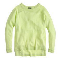 J.Crew collection cashmere pointelle boyfriend sweater