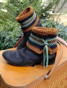 Pattern now available on Craftsy  Swift Kick Boot Cuffs