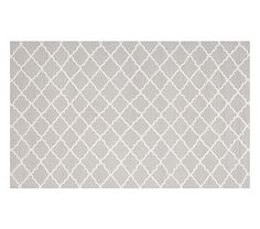 Addison Rug -  Gray pottery barn kids - kids' design is so sophisticated today, I'd love this in any room!