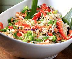 Asian Noodle Summertime Salad/Tofu Recipe   House Foods