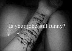 Je tvůj vtip stále vtipný? Ach..