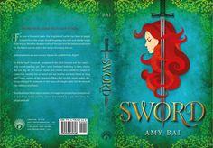 Full wrap cover of SWORD!   #book covers, #YA, #debuts