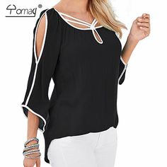 Look! We just got in Women off the sho... !! Find it here: http://fine-treasures.com/products/women-off-the-shoulder-batwing-sleeve-loose-t-shirt?utm_campaign=social_autopilot&utm_source=pin&utm_medium=pin