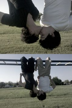 Love has no gender :) this is cute but I get headaches from being upside down and I would probably slip off and die