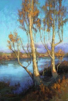 Fall on the Delta by Kim Lordier Pastel ~ 36 x 24