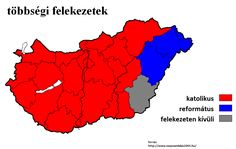 Religious map of Hungary 2001 _ 3