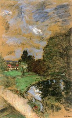 Stormy Sky Edouard Vuillard - circa 1932-1938