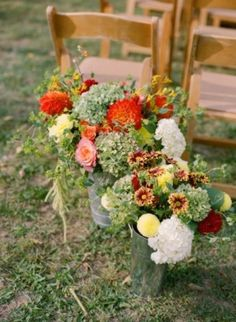 37 Stunning Fall Wedding Aisle Décor Ideas | Weddingomania