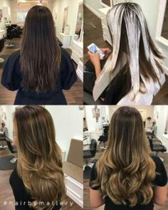 How To Apply Balayage & Ombre Hair Color - most informative video I ...