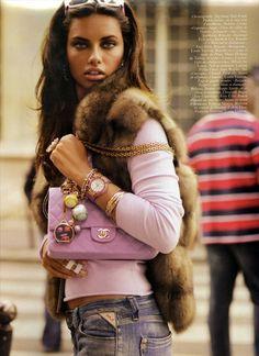 Adriana Lima Paris Vogue