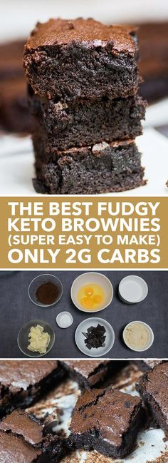 foodrecipesvip brownies fudgy super carbs best keto easy make only the to The Best Fudgy Keto Brownies SUPER EASY TO MAKE Only Carbs pYou can find Best keto dessert recipes and more on our website Desserts Keto, Keto Friendly Desserts, Keto Snacks, Dessert Recipes, Holiday Desserts, Stevia Desserts, Cake Recipes, Dessert Blog, Diabetic Snacks