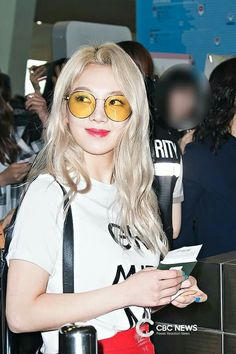 Hyoyeon at Gimpo Airport Departure to Jeju Island for SM Workshop