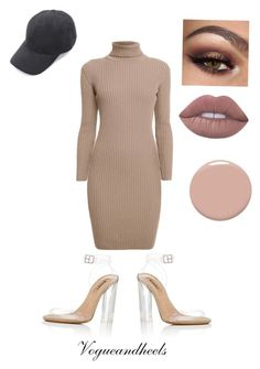 """""""Yeezy Inspired"""" by stylebyviktoriya ❤ liked on Polyvore featuring Rumour London, adidas and Christian Louboutin"""