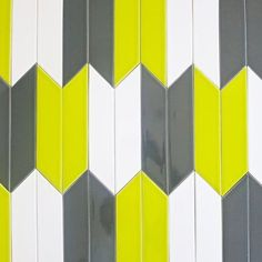 Grateful to @modwalls for injecting some #color and #design intrigue into our #Monday! Love the #yellow and #gray interplay! // #tile #tiles #tiled #instadecor #tiletuesday #interiors #interior #interiordesign #interiordesigners #idcdesigners #walltile #tileaddiction #tilework #homedecor #homeinspiration #bright #home #instadesign by tiletuesday