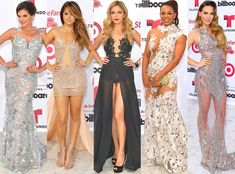 Biggest Trends at the 2015 Billboard Latin Music Awards: Nearly Naked Dresses, Bold Primary Hues & More!  Latin Billboard Awards, Lace