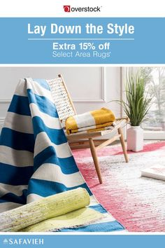 Designed to last a lifetime yet always in style, area rugs from Safavieh display an exquisite combination of patterns and colors that bring any space -- from the living room to the patio -- to life and anchor the home design vision you have in mind. Take an Extra 15% off Select Area Rugs by Safavieh*