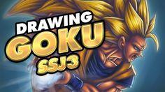 Speed drawing GOKU SSJ3 | Dragon Ball Super