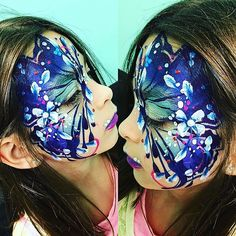 Butterfly by @cmaccolors #bluebutterfly #flowers #photography #event #artoftheday#facepaint #facepainting #facepaintingbutterfly #girl#event#ca#california #madiesplace madiesplacehouse#fun#happybirthday#butterfly#mariposa#azuel