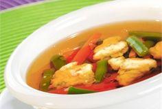 Rosół z fasolką i kluseczkami / Chicken soup with beans and noodles  www.winiary.pl
