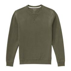Men's Sueded Fleece Sweatshirt