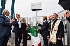 Inauguration Via Ermanno Casoli  10 september 2014