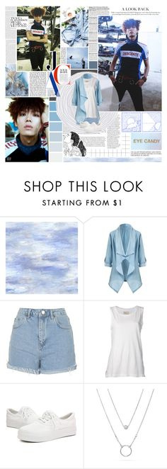 """""""NCT 127 - Yuta"""" by kairimikio ❤ liked on Polyvore featuring Anja, Topshop and Current/Elliott"""