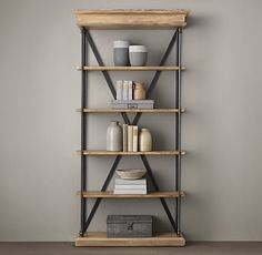 DINING: to the right of fireplace. Storage for large serving pieces, etc. Match finish to chairs and sideboard or use light finish to complement table. Parisian Cornice Single Shelving