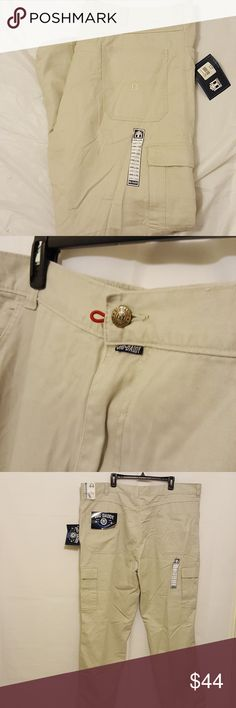 Big Daddy Twill Cargo Pants (Big & Tall) Big Daddy Twill Cargo Pants  Khaki style Never worn 44 wide by 32 length  Questions? Send them my way!  Bundle and Save! Big Daddy Pants Cargo