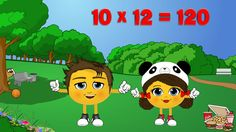 12 Times Table Song - Learn The Fun Way! Your child is encouraged to learn with the clever use of their name, which has been recorded throughout their very own songs. Catchy, familiar tunes all equal to easy learning! Watch for free or order your chosen name :) Multiplication Made Easy!