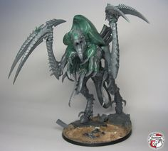 Here you can look at the converted Dimachaeron which was built from a Tervigon kit exclusively. Warhammer 40k Tyranids, Warhammer 40000, Imperial Knight, Battle Games, Warhammer Models, Concept Art, Lion Sculpture, Geek Stuff, Creatures
