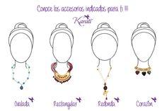 ¿Cómo elegir tu joyería según la forma de tu rostro? - http://blog.karati.com/como-elegir-tu-joyeria-segun-la-forma-de-tu-rostro/