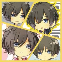 Tsukiuta The Animation, Chibi Boy, Idol, Kawaii, Fan Art, Boys, Cute, Anime, Manga Art